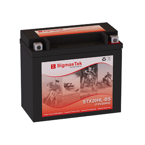 12 Volt 20 Amp Hour Sealed Lead Acid Battery Replacement with NB Terminals by SigmasTek STX20HL-BS